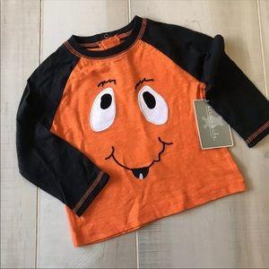 NEW! Halloween Silly Pumpkin Baby Shirt Cotton